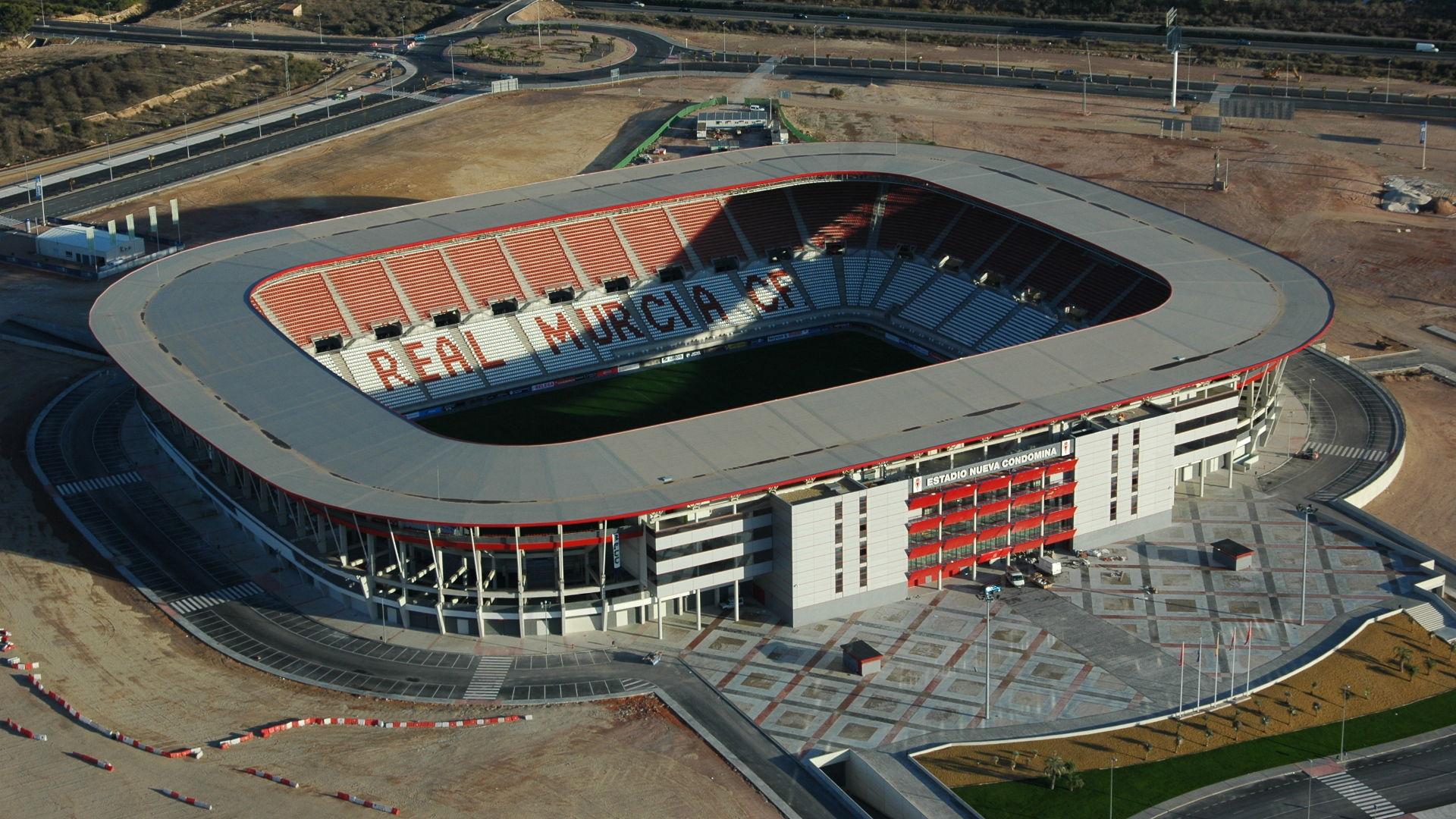 Football grounds in Spain. Nueva-condomina